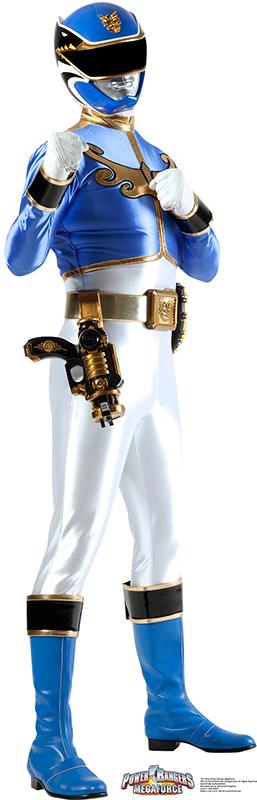 Blue Ranger - Power Rangers: Megaforce Cardboard Cutout Standup Prop