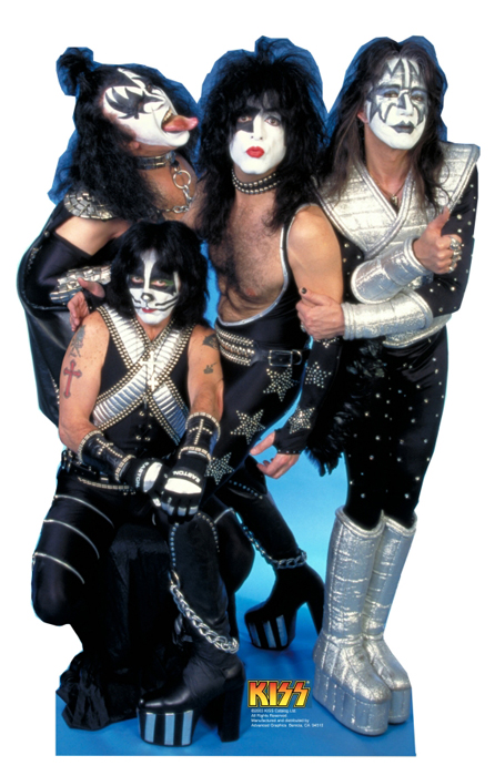 KISS Group - KISS Cardboard Cutout Standup Prop