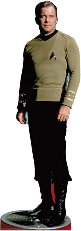 Captain Kirk - Classic - Star Trek Cardboard Cutout Standup Prop
