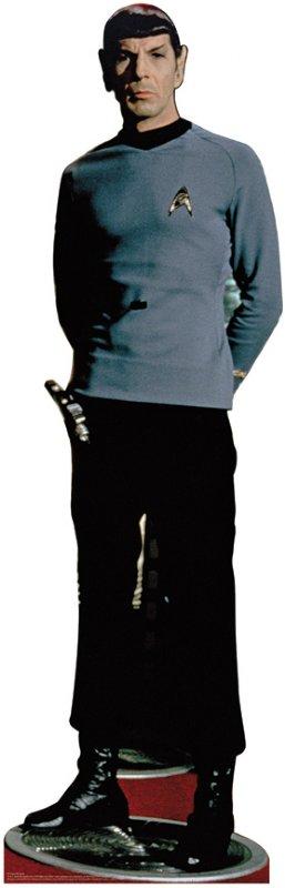 Spock - Classic - Star Trek Cardboard Cutout Standup Prop