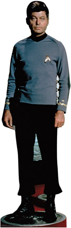 McCoy - Classic - Star Trek Cardboard Cutout Standup Prop