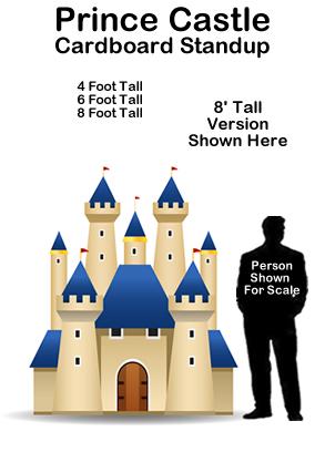 Prince Castle Cardboard Cutout Standup Prop