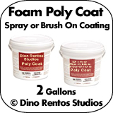 Poly Coat - PolyUrea Foam Coating - 2 Gallons