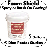 5 Gallon Foam Shield - Foam Coating