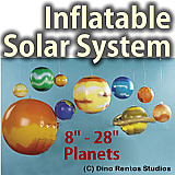 Inflatable Solar System Props