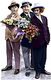 Three Stooges Flowers - The Three Stooges Cardboard Cutout Standup Prop