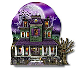 "3-D Haunted House 12"" x 10"""