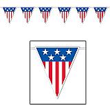 American Spirit Giant Pennant Banner