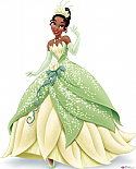 Tiana Royal Debut - Disney Princess Cardboard Cutout Standup Prop