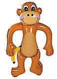 """Inflatable 72"""" Monkey"""