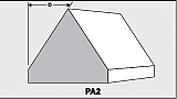 PA2 - Architectural Foam Shape - Parapets & Caps