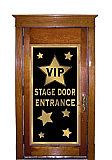 "VIP Stage Door Entrance Door Cover 30"" x 5'"