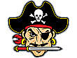 Pirate Head Backdrop