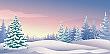 Winter Land Backdrop