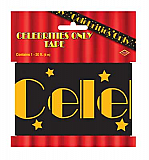 "Celebrities Only Party Tape 3"" x 20'"