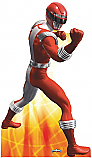 Red Ranger - Power Rangers: Super Legends Cardboard Cutout Standup Prop