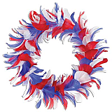 Feather Wreath 8""