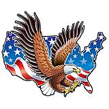 "American Eagle Cutout 13"" x 18"""