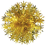 "Star Ball 12"" Gold"