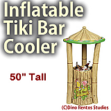 Inflatable Tiki Bar Cooler