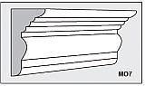 M07 - Architectural Foam Shape - Molding