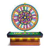 "Wheel Of Fortune Casino Prop 4' 6"" x 5' 3"""