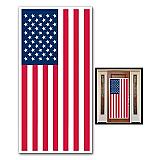 """American Flag Door Cover 30"""" x 5'"""