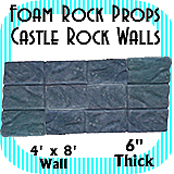 Castle Wall Rocks - Rock Wall Full - 12 Rocks