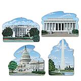 "Washington DC Cutouts 16"""