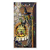 "Witch's Brew Door Cover 30"" x 5'"