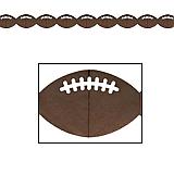 "Football Garland 4"" x 12'"
