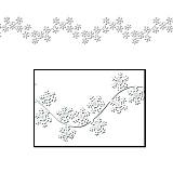 Winter Snowflake Garlands 6'