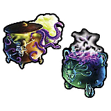 Cauldron Cutouts 16""