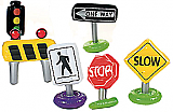 Inflatable Traffic Sign Props
