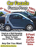 Car Facade Foam Prop Display