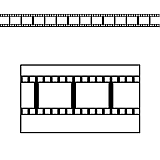 Filmstrip Border Trim 37'