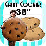 Big Giant Cookie Foam Prop 36""