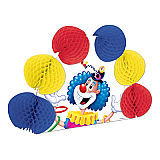Juggling Clown Pop-Over Centerpiece 10""