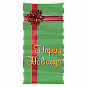 "Happy Holidays Door Cover 30"" x 5'"