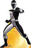 Black Ranger - Power Rangers: Super Legends Cardboard Cutout Standup Prop