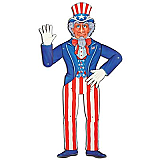 Jointed Uncle Sam 3'