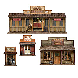 "Wild West Town Props 24"" - 65"""