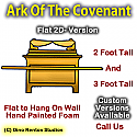 Ark Of The Covenant - Flat 2D Foam Display/Prop