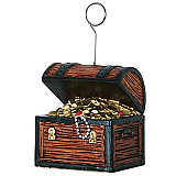 Treasure Chest Photo/Balloon Holder 6 Ozs