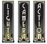 Lights, Camera, Action Cutouts 20""