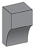 M31 - Architectural Foam Shape - Molding