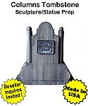 Tombstone Columns Sculpture Statue Prop