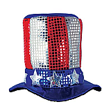 Glitz 'N Gleam Uncle Sam Top Hat