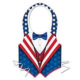 Plastic Patriotic Vest