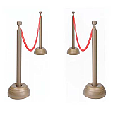 Red Rope Stanchion Decoration Set